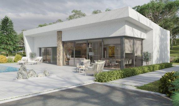 Villa in Alicante, San Miguel de Salinas, 140 m2, pool -
