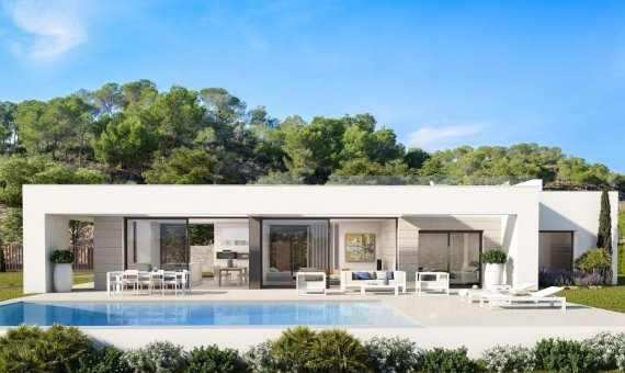 Villa en Alicante, San Miguel de Salinas, 140 m2, piscina -