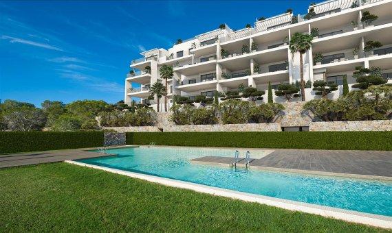 Apartment in Alicante, San Miguel de Salinas, 90 m2, pool -