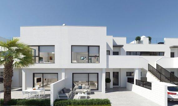 Квартира на первом этаже в Murcia, Сантьяго-де-ла-Рибера, 96 м2, бассейн -