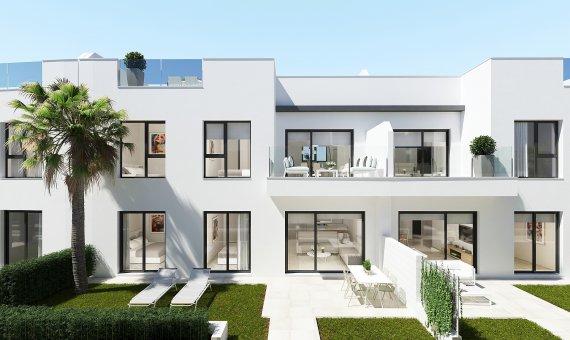 Top floor apartment in Murcia, Santiago de la Ribera, 90 m2, pool -