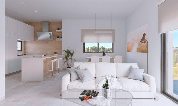 Квартира на первом этаже в Аликанте, Пилар-де-ла-Орадада, 90 м2, бассейн   | 9