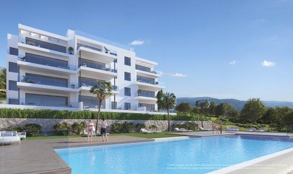 Apartment in Alicante, San Miguel de Salinas, 115 m2, pool -