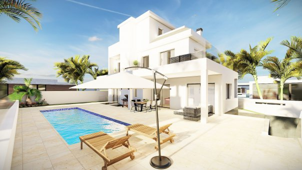 Villa in Alicante, Rojales, 295 m2, pool -