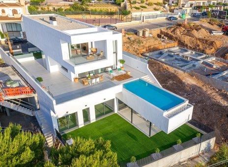 Villa in Alicante, Polop, 426 m2, pool -