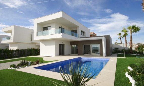 Villa en Alicante, San Miguel de Salinas, 124 m2, piscina -