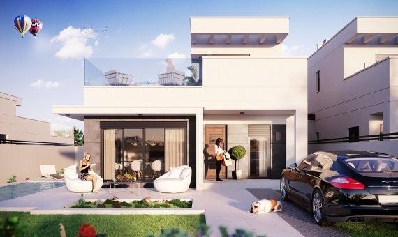 Villa en Alicante, La Marina, 138 m2, piscina   | 2