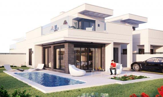 Villa en Alicante, La Marina, 138 m2, piscina -