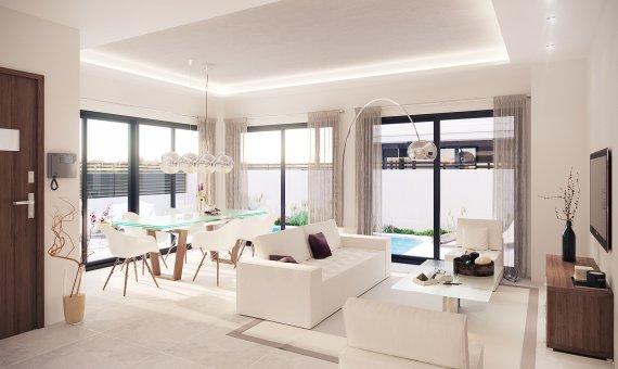Villa en Alicante, La Marina, 138 m2, piscina   | 3