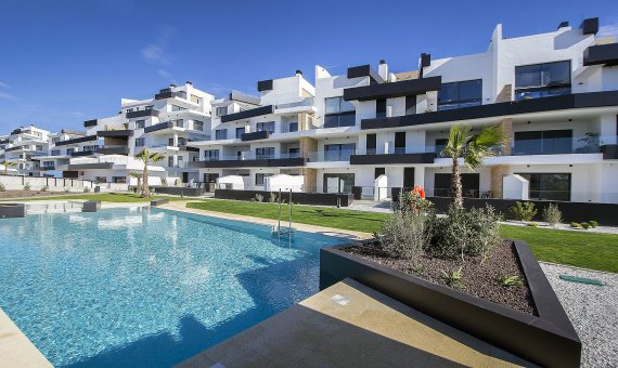 Квартира в Аликанте, Ориуэла Коста, 61 м2, бассейн -