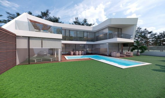 Villa en Alicante, Altea, 298 m2, piscina -