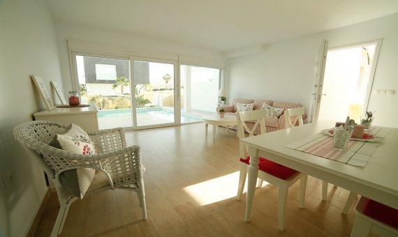 Casa pareada en Alicante, Santa Pola, 99 m2, piscina   | 5