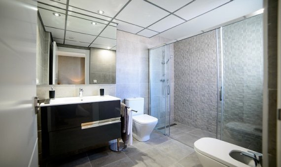 Квартира в Аликанте, Кампельо, 90 м2, бассейн     16