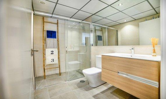 Квартира в Аликанте, Кампельо, 90 м2, бассейн     14