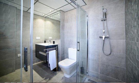 Квартира в Аликанте, Кампельо, 90 м2, бассейн     15