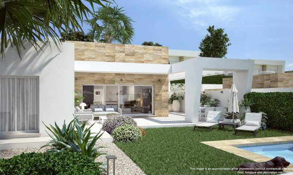 Villa in Alicante, Algorfa, 132 m2, pool   | 11