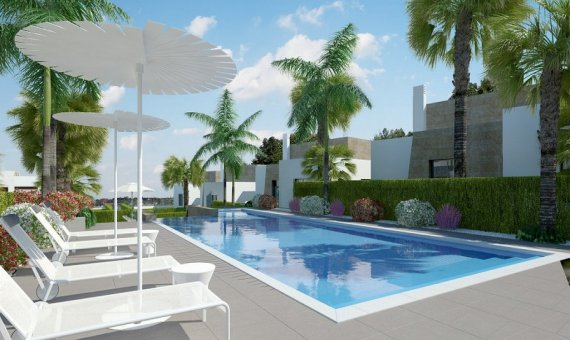 Villa in Alicante, Algorfa, 132 m2, pool   | 9