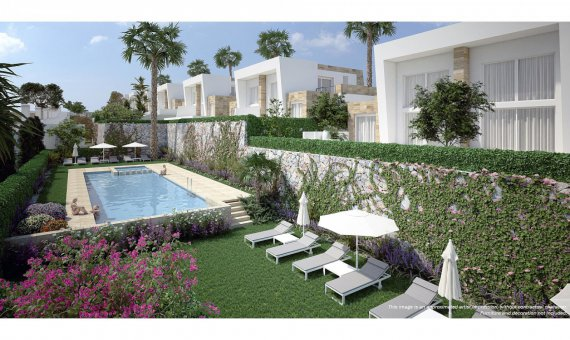 Villa in Alicante, Algorfa, 132 m2, pool   | 12