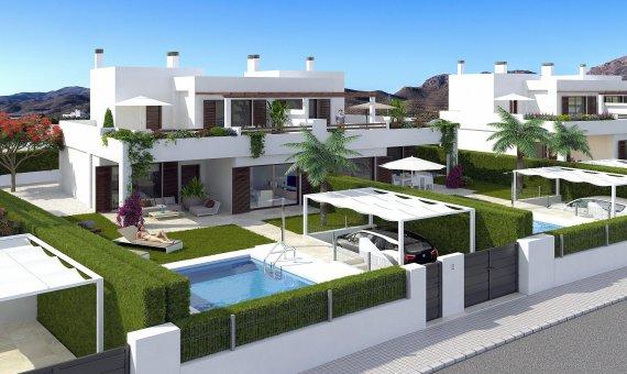 Дом в Мурсии, Сан-Хуан-де-лос-Террерос, 203 м2, бассейн -