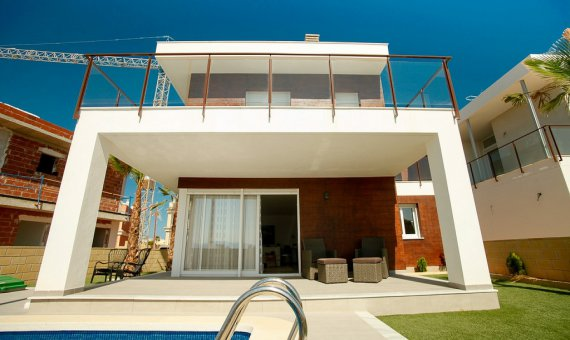 Villa en Alicante, Santa Pola, 152 m2, piscina   | 3