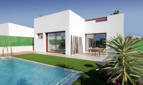 Villa en Alicante, Benijófar, 115 m2, piscina -