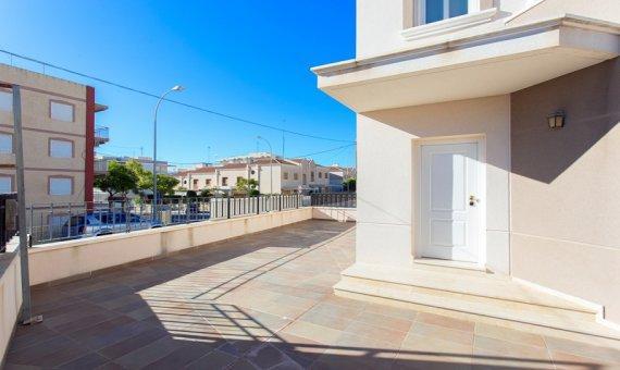 Casas adosada en Alicante, Santa Pola, 95 m2, piscina   | 3