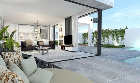 Villa en Murcia, Los Alcazares  Mar Menor, 173 m2, piscina   | 2