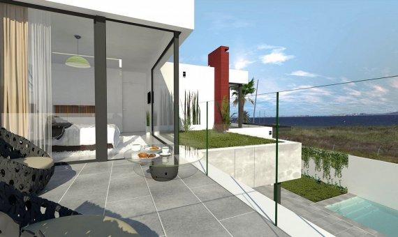 Villa en Murcia, Los Alcazares  Mar Menor, 173 m2, piscina   | 3