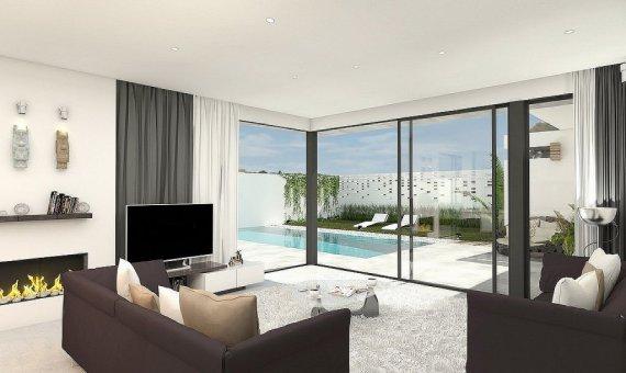 Villa en Murcia, Los Alcazares  Mar Menor, 173 m2, piscina   | 4