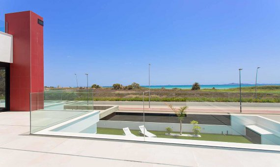 Вилла в Мурсии, Лос-Алькасарес  Мар Менор, 161 м2, бассейн   | 20