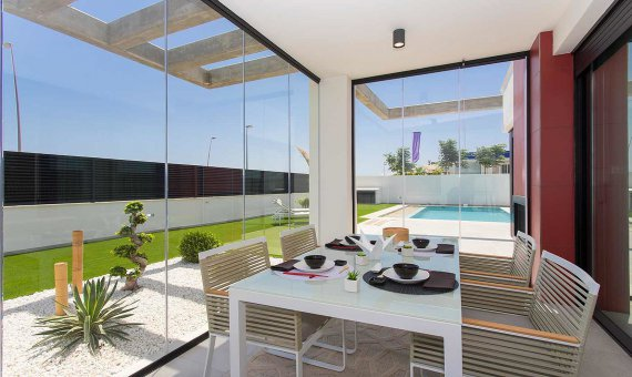 Villa en Murcia, Los Alcazares  Mar Menor, 161 m2, piscina   | 4