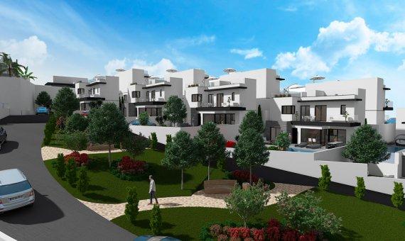 Casa pareada en Alicante, San Miguel de Salinas, 189 m2, piscina -