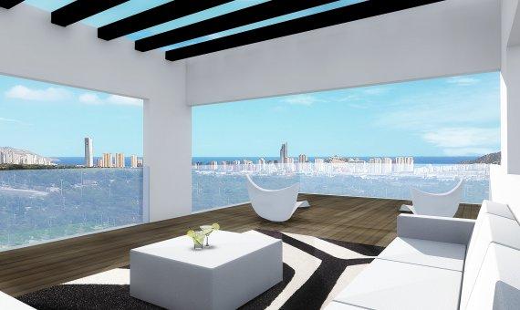 Villa en Alicante, Benidorm, 210 m2, piscina   | 5
