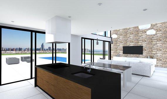 Villa en Alicante, Benidorm, 210 m2, piscina   | 4