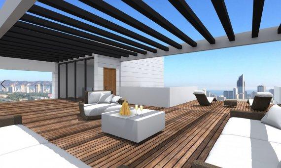 Villa en Alicante, Benidorm, 210 m2, piscina   | 2