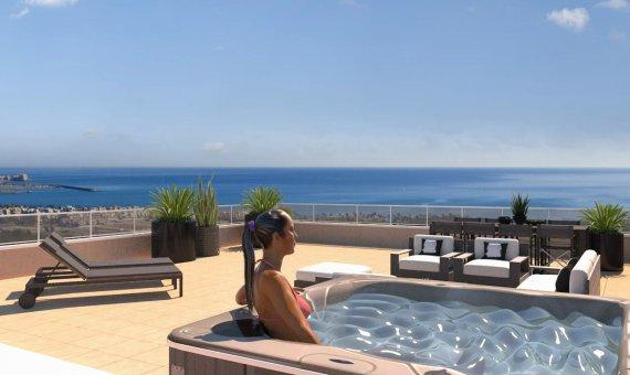 Piso en Alicante, Punta Prima, 68 m2, piscina     2