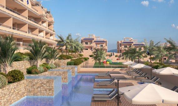Piso en Alicante, Punta Prima, 77 m2, piscina     2