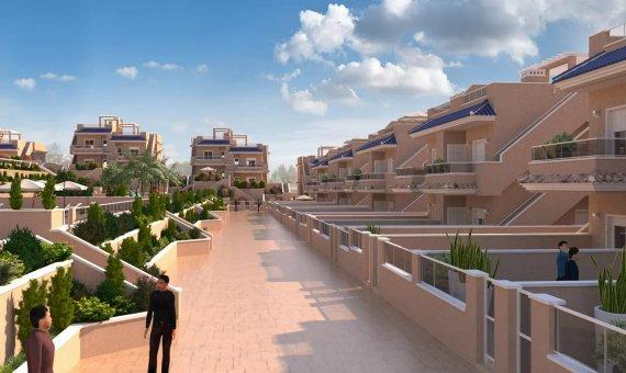 Piso en Alicante, Punta Prima, 77 m2, piscina     15