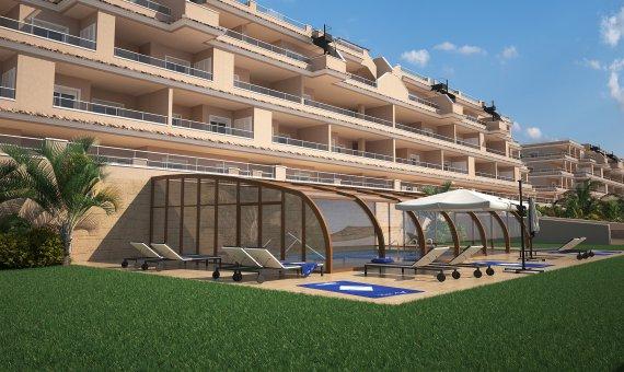 Piso en Alicante, Punta Prima, 77 m2, piscina     17