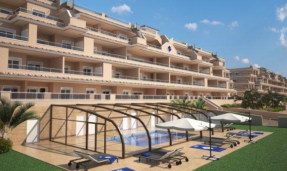 Piso en Alicante, Punta Prima, 77 m2, piscina     12
