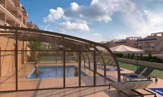 Piso en Alicante, Punta Prima, 77 m2, piscina     11