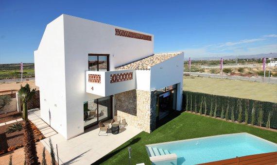 Villa en Alicante, Benijófar, 116 m2, piscina -