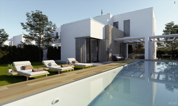 Villa en Alicante, Orihuela Costa, 170 m2, piscina -