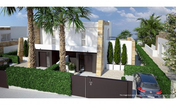Semi-detached house in Alicante, Algorfa, 98 m2, pool   | 9