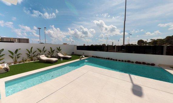 Villa en Alicante, Sucina, 138 m2, piscina   | 2