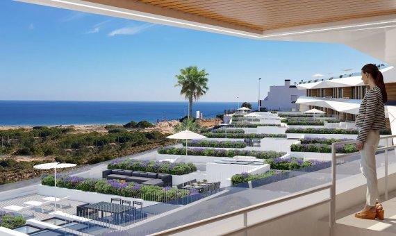 Квартира в Аликанте, Ареналес-дель-Соль, 102 м2, бассейн -