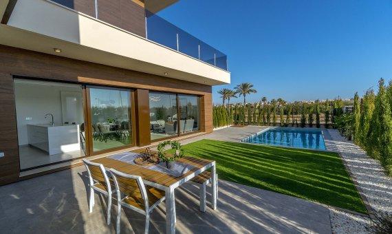 Villa en Alicante, Roda, 141 m2, piscina     3
