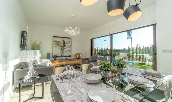 Villa en Alicante, Roda, 141 m2, piscina     4