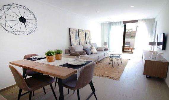 Квартира на последнем этаже в Аликанте, Торре-де-ла-Орадада, 72 м2, бассейн   | 4