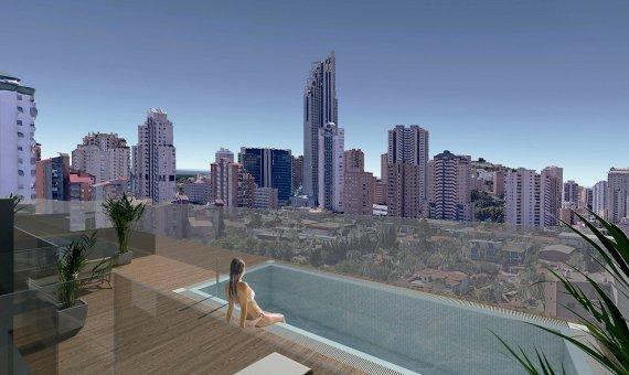 Piso en Alicante, Finestrat, 70 m2, piscina -